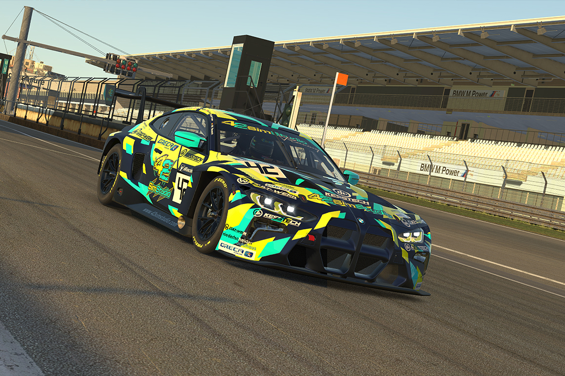 Read more about the article Debüt 42SimStudio Racing